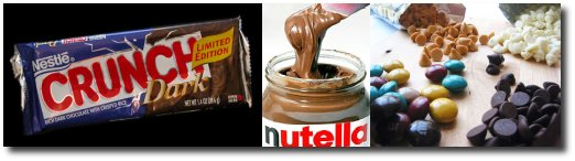 Crunch, Nutella