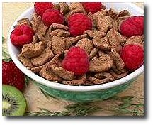 Cereales et fraises