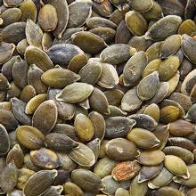Les graines de courge